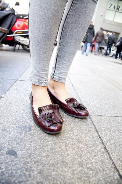 Jeans + mocasines - TELVA