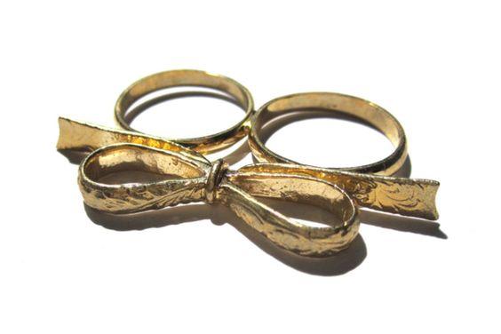Bow Two Finger Ring / bigbang