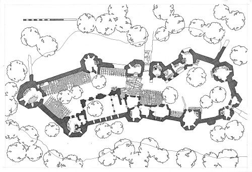 Castle floor plan | Architecture | Pinterest | Castles ...