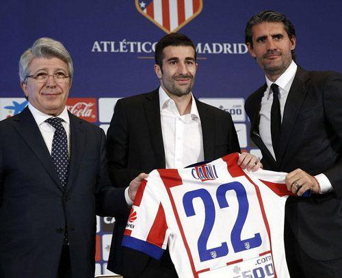 Nueva equipacion CANI Atletico Madrid 2014-2015