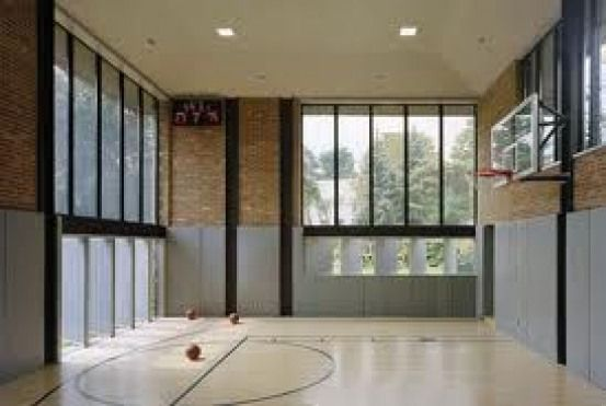 Private Indoor Basketball Court Recreationalroom Recreational Room Awesome Indoor Basketball Home Basketball Court Basketball Room