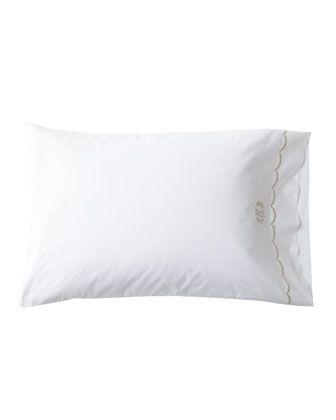 "Matouk ""Scallops"" Bed Linens"
