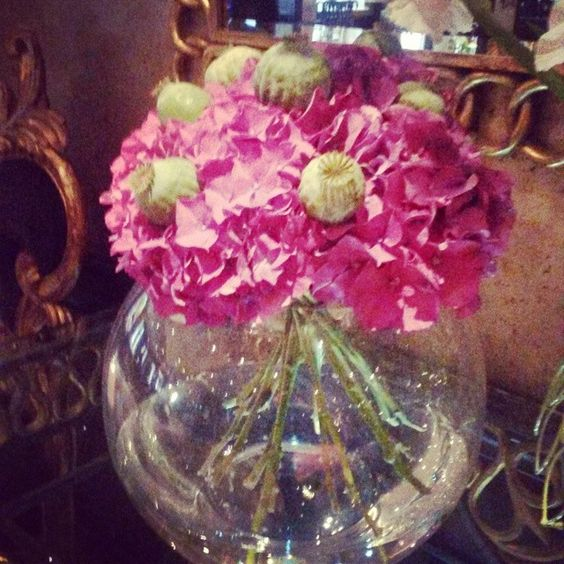 Impressive Flowers at Flemings Mayfair #different #pink
