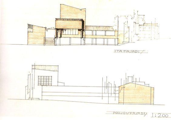 Subido por: Edu  Diseño para el concurso del Ayuntamiento de Säynätsalo en Jyväskylä, Finlandia