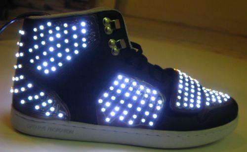 Moritz Waldemeyer: Wearable Electronic, Creative Recreation, Wearable Technology, Led Shoe, Wearable Shoes, Wearabletechnology Etextiles