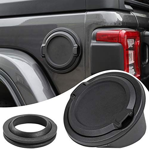 Savadicar Gas Tank Cap Cover For 2007 2019 Jeep Wrangler Jk Jl