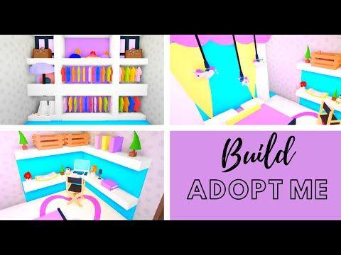 8 Custom Pet Furniture Design Ideas Building Hacks Roblox Adopt Me Part Two Its Sugarcoffee Youtube In 2020 Custom Pet Furniture Cute Room Ideas Animal Room