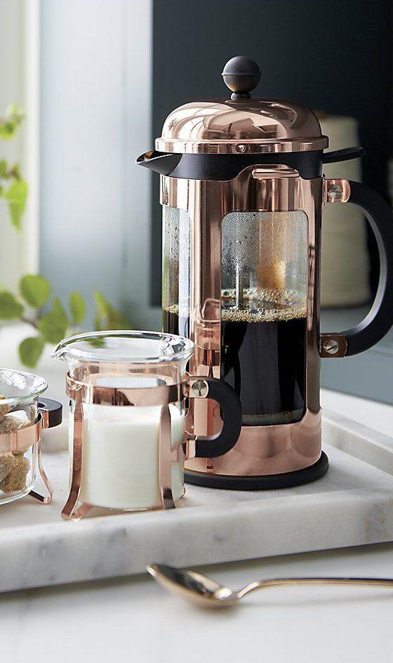 Bodum Chambord Coffee Maker Gold 34 Oz