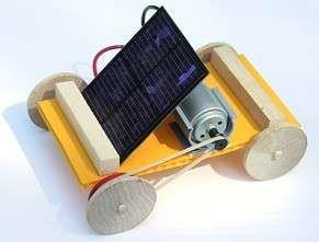 Mini solar car cars band and gears for Mitsuba motor solar car