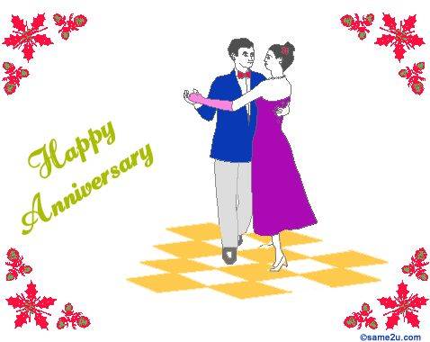 Image result for happy wedding anniversary animated