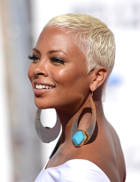 30 Popular Hairstyles for Black Women | Platinum Pixie | Hairstyle on Point