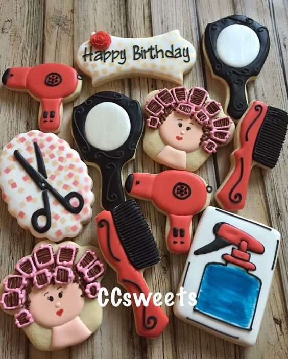 Hairstylist Cookies