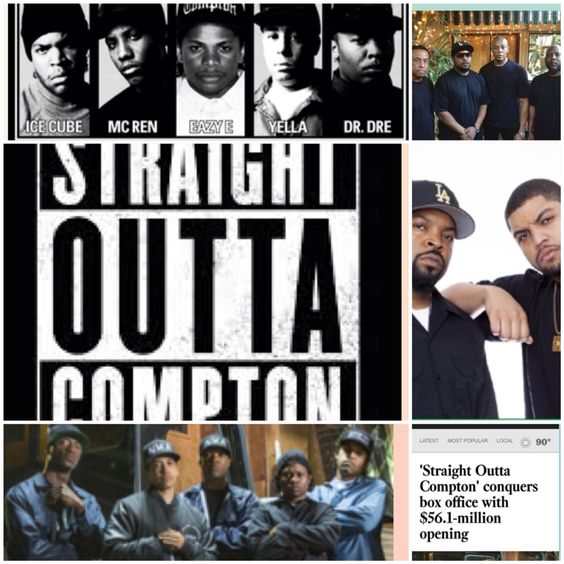 A MUST #SEE IN #THEATERS AUGUST 14, 2015 ❤ #StraightOuttaCompton lifted the #boxoffice out of its #August funk, debuting at #Number1 in the #US and #Canada with an #estimated $56.1 million. The #robust #haul was not #shocking given the huge #fan #following for #NWA the #rapgroup on which the #movie is based, as well as the intense #mediacoverage and strong word of mouth that came with the #release. The movie #posted the #biggest August #opening ever for an R-rated film, and it ha