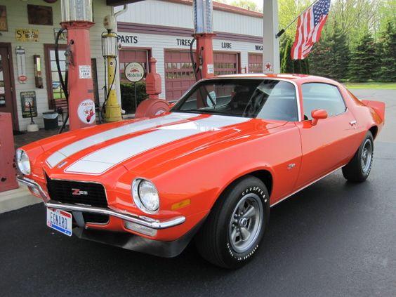 1970 Chevrolet Camaro Coupe Z 28 350 Cid 360 Horsepower