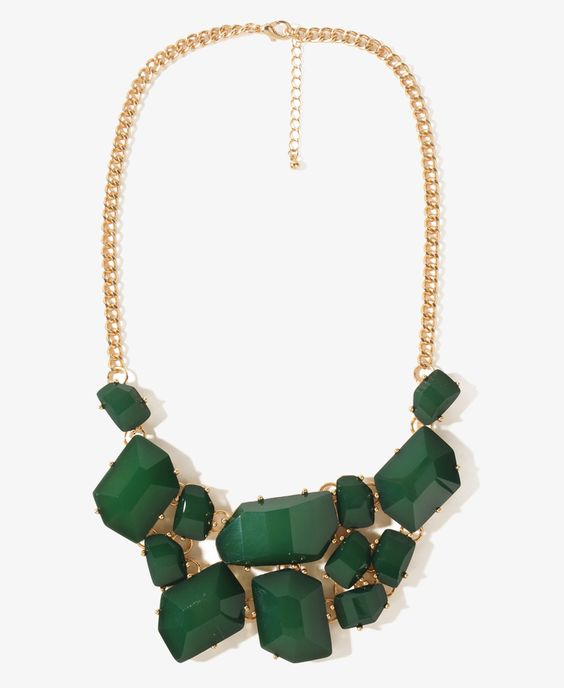 Faceted Necklace $9.80