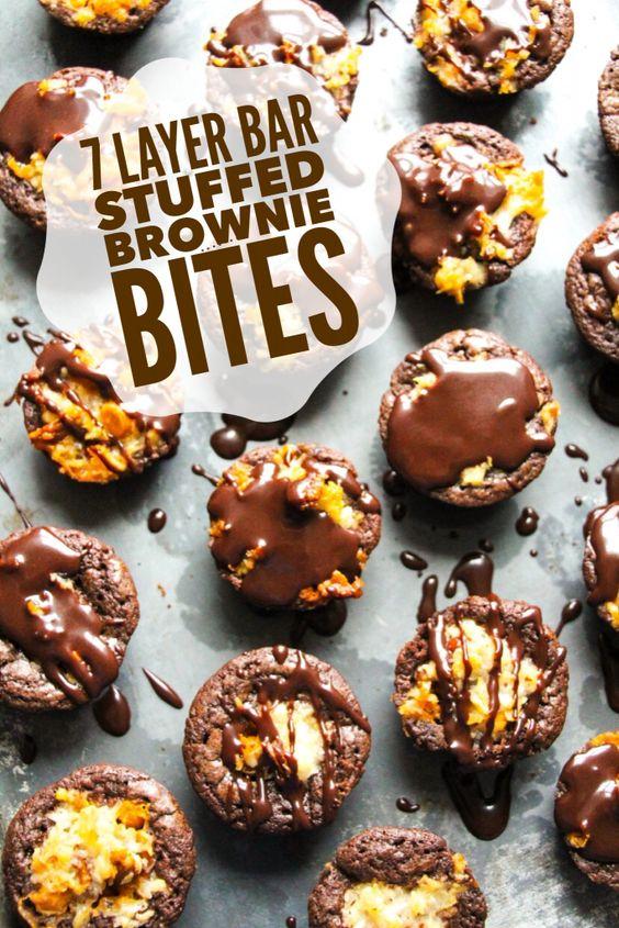 chocolate ganache chocolate syrup bar large egg 7 layers coconut ...
