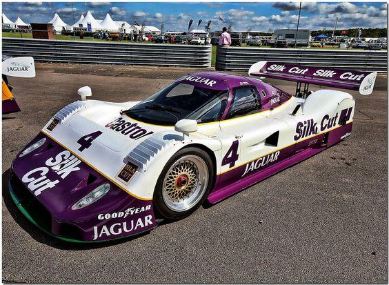 Silk Cut Jaguar XJR-11 | Race Livery | Pinterest | Jaguar ...