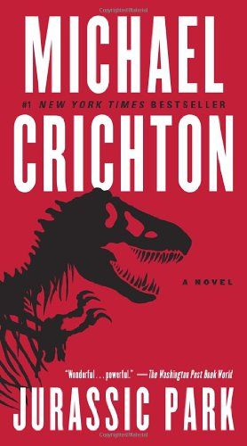Jurassic Park by Michael Crichton.  One of my favorite summer reads; I couldn't put it down.  99.9% different from the movie and that is OKAY.