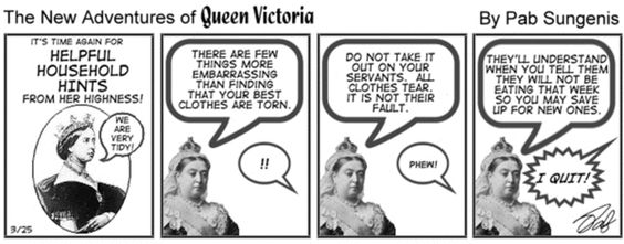 New Adventures of Queen Victoria by Pab Sungenis Saturday, May 10, 2014