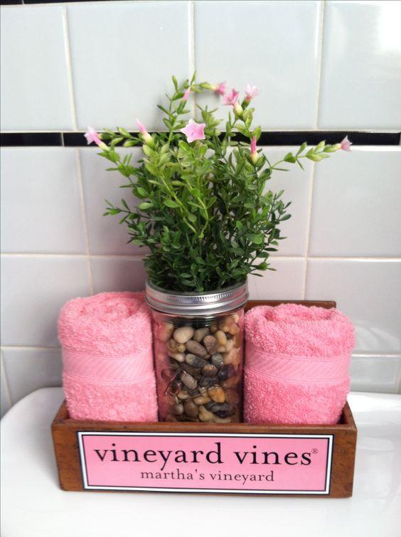 Bathroom decorating!