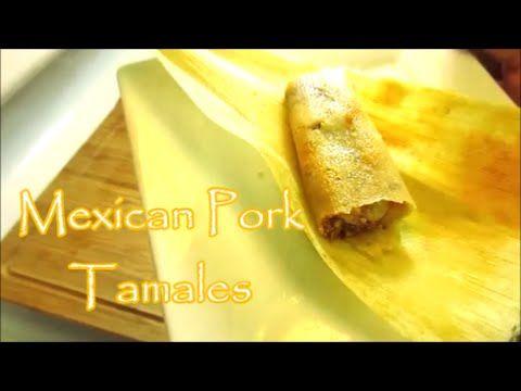 Mexican Tamales (Tamales de Puerco)