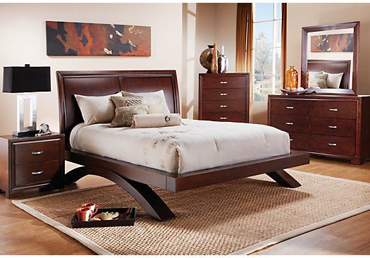 Shop For A Laurel View Cherry 5 Pc King Sleigh Bedroom At Rooms To Go. Find  King Bedroom Sets That Will Look Great In Your Home And Complement The U2026
