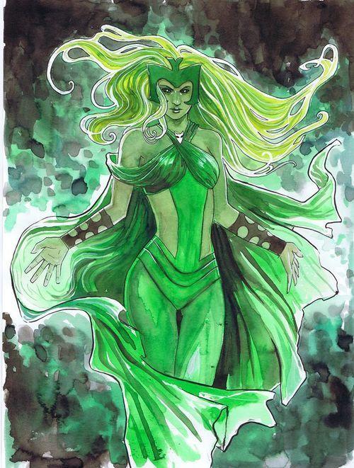 The Enchantress by Stephanie Hans