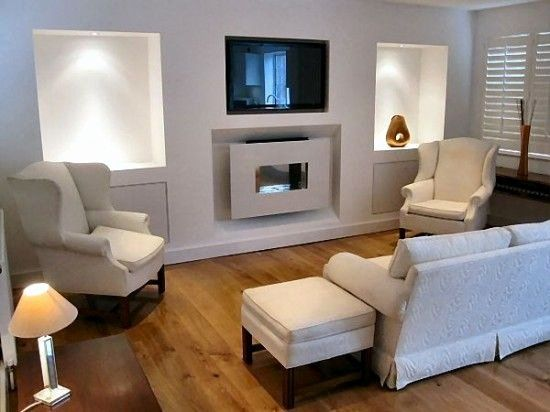 Idea For Living Room With Fireplaces Beautiful Living Room With Tv Above Fireplace Decorating Ideas Small Living Rooms Living Room Modern Trendy Living Rooms