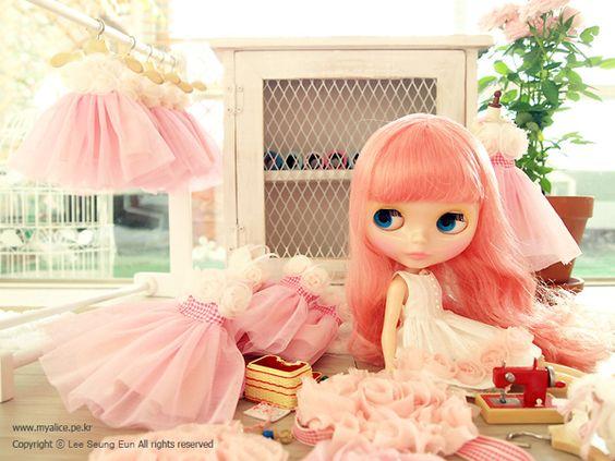 夢幻的粉紅色♥
