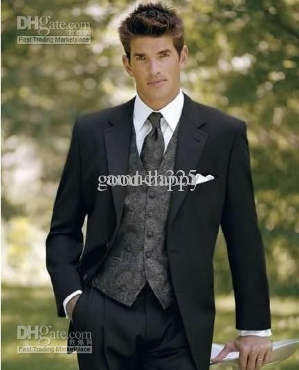 Groom Suits Tuxedos Hot Recommend Men'S Wedding Dress Boys Suits