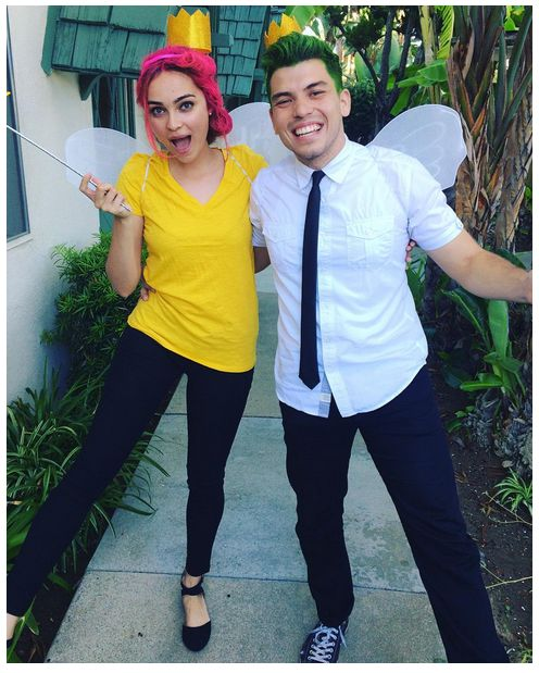 fairly odd parents halloween - couple costume ideas