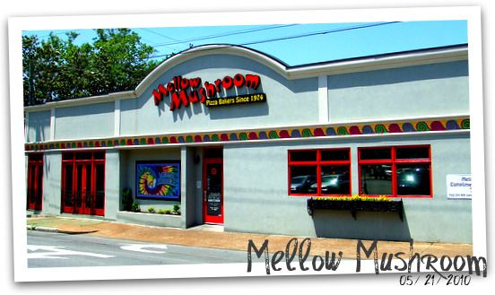 Mellow Mushroom - Nashville  they've repainted since then, but same place i love to visit