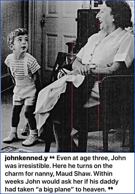John-John and Nanny, Maud Shaw