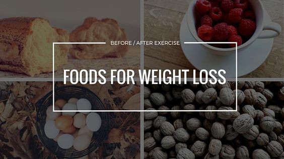 It's no surprise that eating certain foods can help you lose weight; however, you might not be aware that eating certain foods before and/or after exercisin