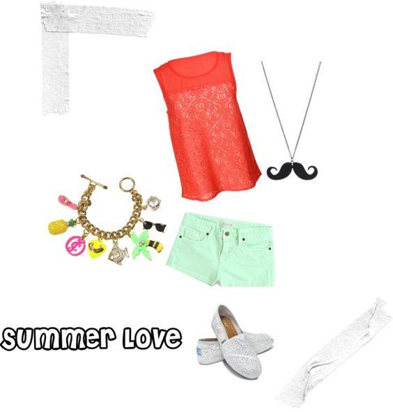"""Summer"" by arinmwinn on Polyvore"