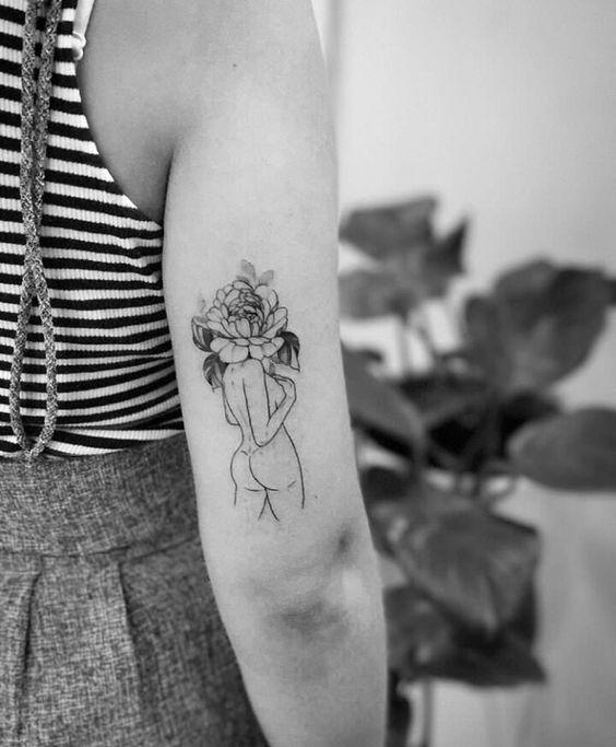14 Small Tattoo Ideas Vivaglee Silhouette Tattoos Tattoos Body Art Tattoos
