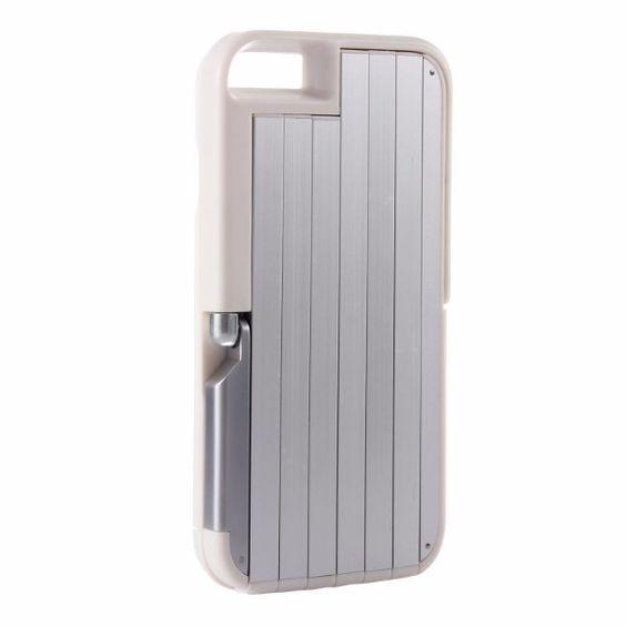 Retractable Aluminum Bluetooth Selfie Stick Phone Case