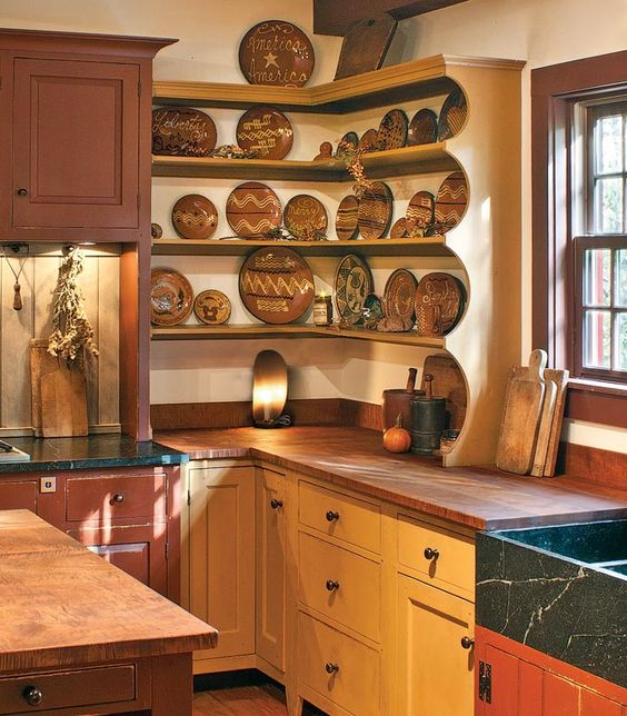Pinterest the world s catalog of ideas for Colonial kitchen cabinet ideas