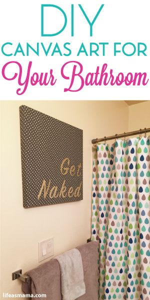Master bath contact paper and canvas art on pinterest for Paper curtains diy