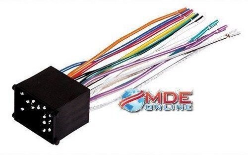 8bd30d208e46dead5d97f01f8082fda3 wire scosche fdk13b wiring harness for 2000 & up ford lincoln mercury Scosche Wiring Harness Color Code at eliteediting.co