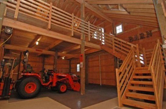How To Build A Pole Barn With A Loft Howtobuildashed Polebarngarage How To Build A Pole Barn With A Loft How In 2020 Barn Loft Building A Pole Barn Barn House Plans
