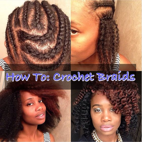 Crochet Hair Video Tutorials : Crochet Braids Tutorial! Haute Looks! Pinterest Tutorials, Braid ...