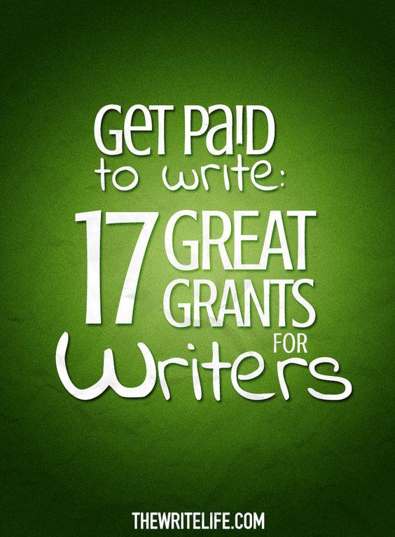 Creative writing grants