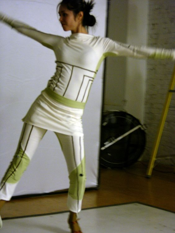 Puppeteer motion-capture costume