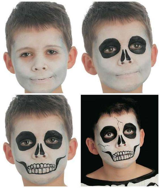 18 idées de maquillages rigolos pour enfants - #de #enfants #idées #maquillages #pour #rigolos