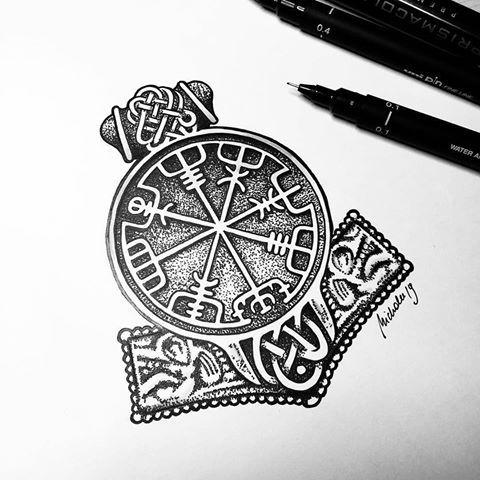 Tattoo Artist Sacred Knot Tattoo Viking Vikingink