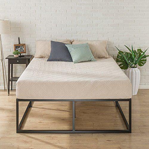 Zinus Joesph Modern Studio 18 Inch Platforma Bed Frame Mattress