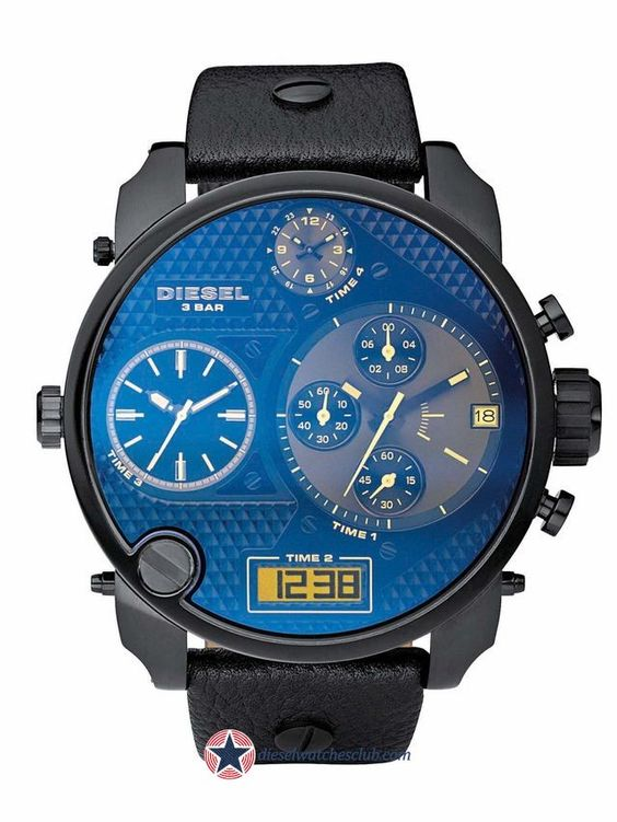 Reloj Diesel Genuine Leather Precio