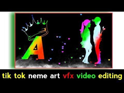 Tik Tok Name Editing Video In Kinemaster Name Art Video Kaise Banaye Editing Vide Banner Background Images Iphone Background Images Poster Background Design