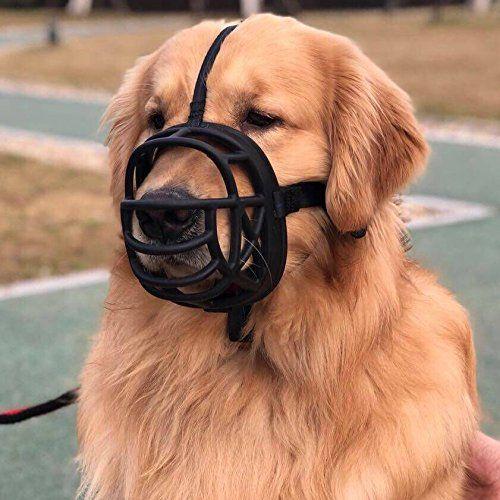 Wandz Soft Silicone Training Dog Muzzles Anti Biting Barking